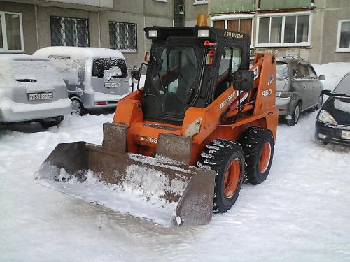 Мини погрузчик Doosan 450 Plus бу продажа